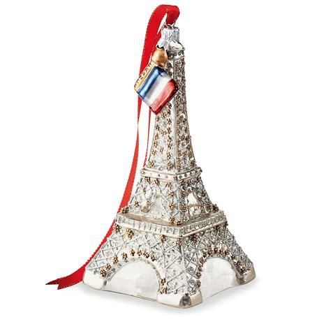 eiffel tower christmas ornament gumps
