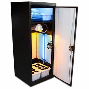 Grow Box Cabinet Growing Systems By Fullbloom Hydroponics
