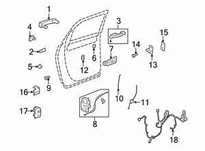 Buick Enclave Door Wiring Harness  Rear   W  Bose Audio