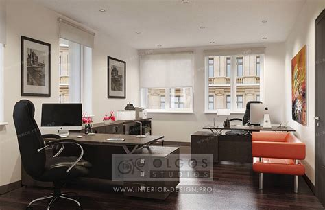 Office Interior Design, Photos And 3d Visualisations Of