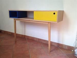Console Scandinave Pas Cher : console meuble scandinave bricolage maison et d coration ~ Teatrodelosmanantiales.com Idées de Décoration