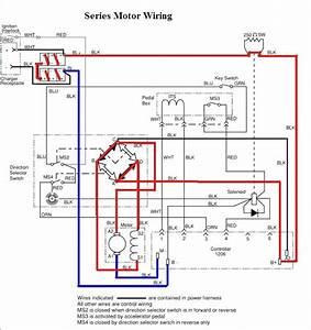 Ezgo Marathon 1991 Wiring Diagram