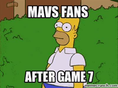 Game 7 Memes - mavs fans after game 7