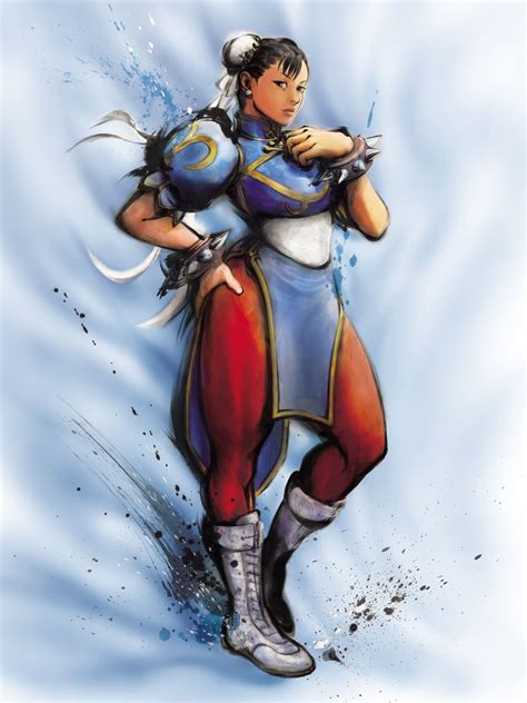 chun li art street fighter iv art gallery