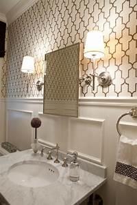 Papier Peint Pour Salle De Bain : papier peint salle de bains meilleures images d ~ Dailycaller-alerts.com Idées de Décoration
