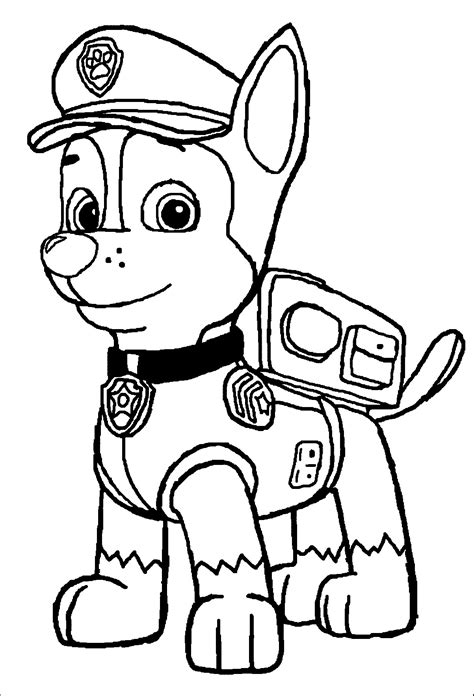 Paw Patrol Pups Coloring Pages 2553074