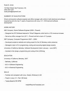 ats applicant tracking system resume template With ats system resume