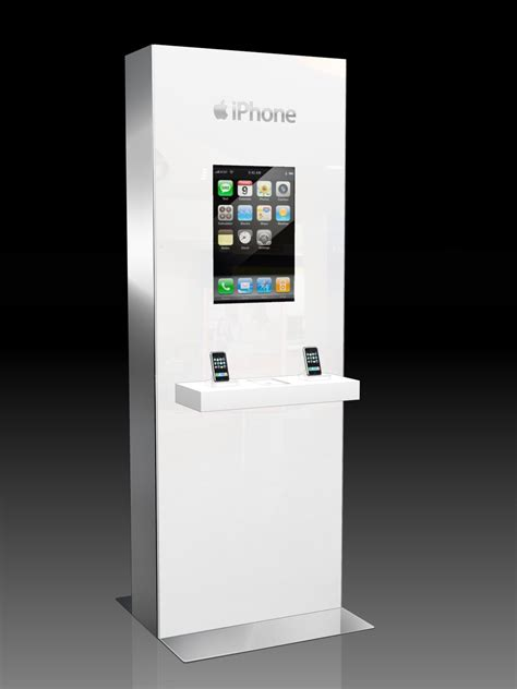 iphone kiosk stratacache and at t mobility win digital signage and