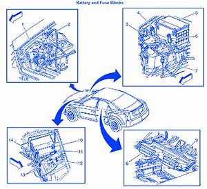 Cadillac Ctsv All 2007 Electrical Circuit Wiring Diagram