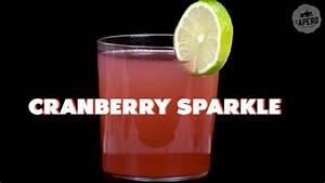 Cocktail Nouvel An : pour le nouvel an la recette du cocktail cranberry sparkle ~ Nature-et-papiers.com Idées de Décoration