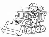 Coloring Bulldozer Pages sketch template