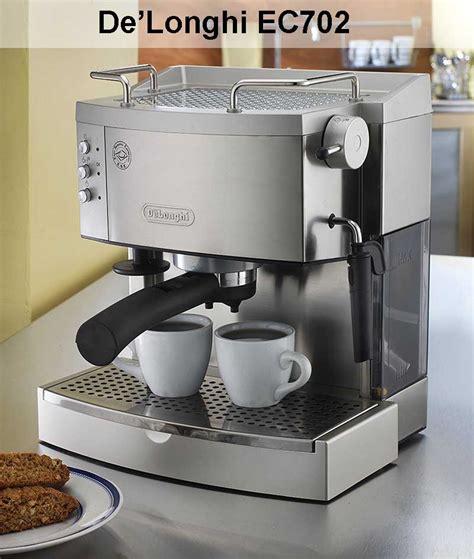 Delonghi Espresso Review by Delonghi Ec702 Espresso Maker Review
