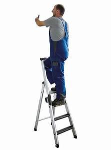 Stehleiter 8 Stufen : g nzburger stehleiter mit clip step r13 250kg 8 stufen ~ Buech-reservation.com Haus und Dekorationen