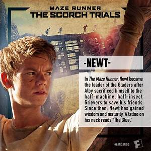 Maze Runner: The Scorch Trials Character Cards ...