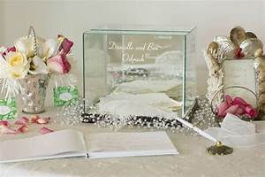 Design Your Own Gift Card Free Personalized Glass Wedding Card Keepsake Box Rectangle Small