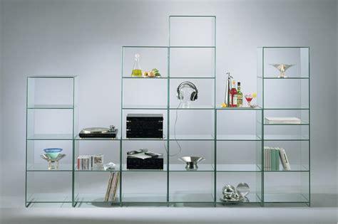 Kitchen Shelving Ideas - glass shelving toughened stunning glass display units