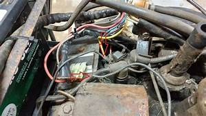 520h Ignition Coil Wires- Loose Black Wire