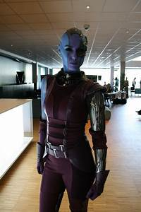 The best Nebula cosplay you'll see from Guardians of the ...