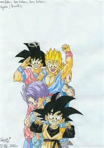 Goku Gohan and Goten