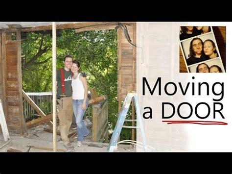 door to door movers moving an exterior door home renovation