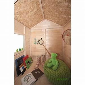 Chalet Bois Pas Cher : maisonnette en bois pour enfants kangourou chalet pas cher ~ Nature-et-papiers.com Idées de Décoration