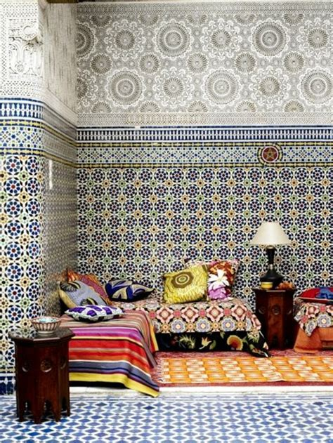 le salon marocain de quot mille et une nuits quot en 50 photos