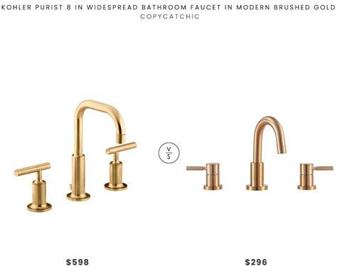 daily find kohler purist widespread faucet copycatchic