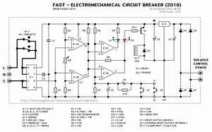 Fast Circuit Breaker Schematic - Basic Circuit - Circuit Diagram