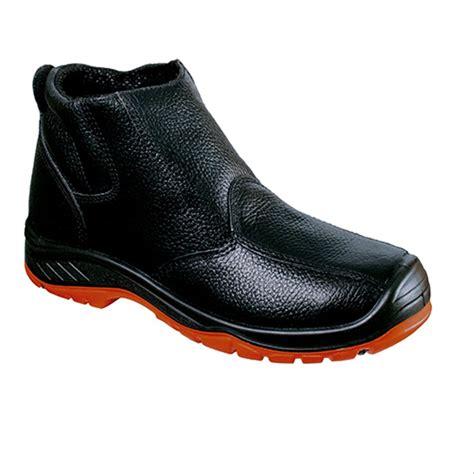 jual sepatu safety shoes jaguar ankle boot  murah