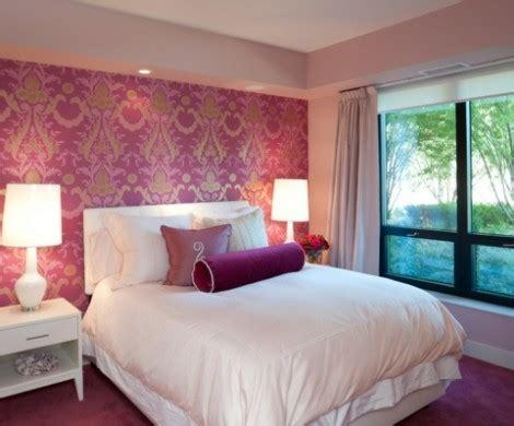 wunderschoene schlafzimmer  rosa