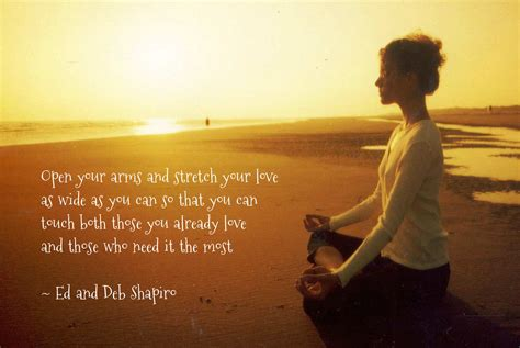 Open Your Arms And Stretch Your Love As Wide As You Can So