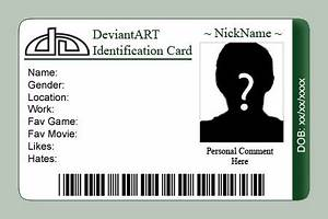 id card templates word excel samples With sample of id card template