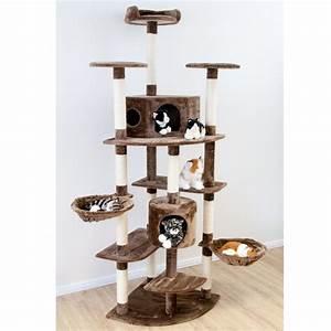 Kletterbaum Für Katzen : dibea kb00703 xxl kratzbaum h he 200 cm als eck ~ Lizthompson.info Haus und Dekorationen