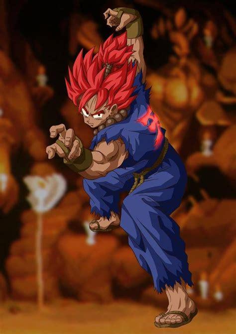Así Se Vería La Fusión De Goku Y Akuma De Street Fighter