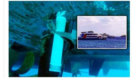 Ferry Boat Bomb In Mexico by Explosive Device Allegedly Found On Ferry Cozumel