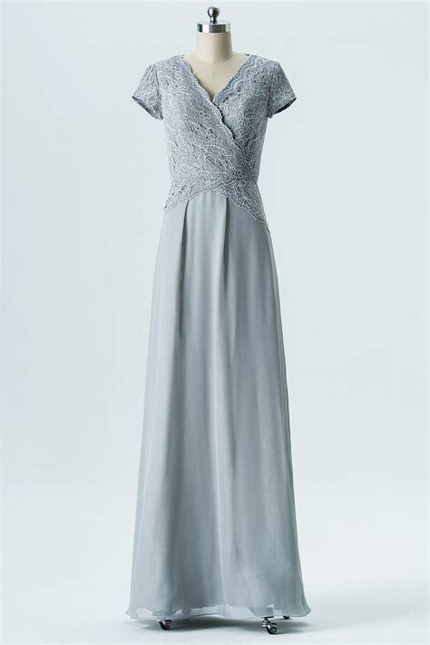 robe habillée pour mariage grise robe habill 233 e grise col en v mancherons appliqu 233 e