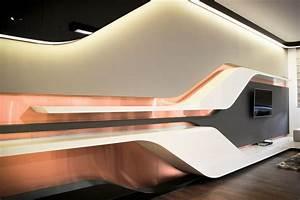 Fresh Futuristic Office Interior Design #13213