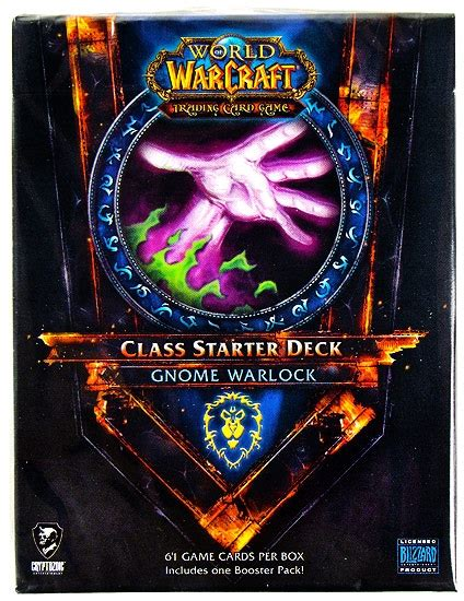 beginner warlock deck 2015 world of warcraft 2011 fall class starter deck alliance