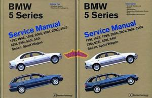 Bmw Shop Manual Service Repair Book E39 97