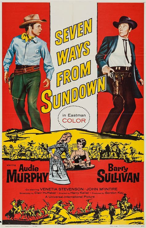 Seven Ways From Sundown (1960)  Posters — The Movie