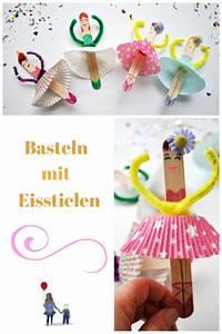 Basteln Für Jungs : basteln mit eisstielen eine ballerina girlande f rs ~ Lizthompson.info Haus und Dekorationen