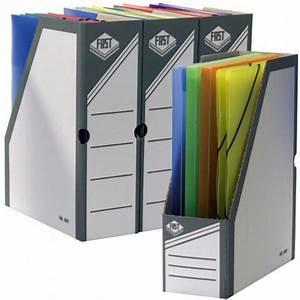 Porte Revue Carton : porte revue carton gris dos large 10 cm ~ Teatrodelosmanantiales.com Idées de Décoration