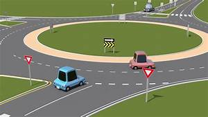 How To Yield  Enter And Exit When Using A Roundabout