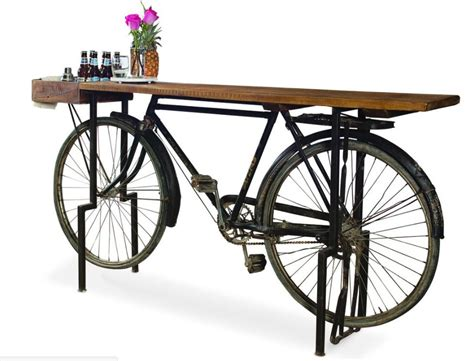 Ideas For Kitchen Lighting - bicycle sideboard
