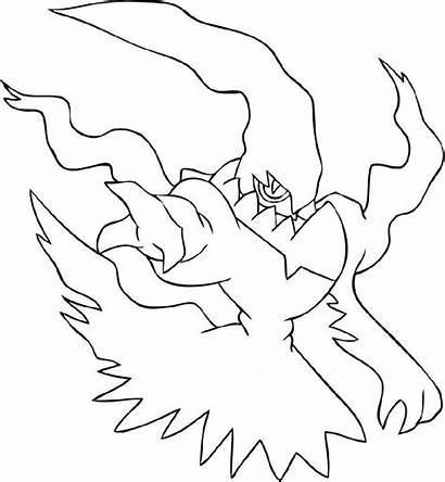 Pokemon Coloring Mega Legendary Printable Astonishing Educative