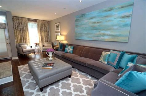 Grey And Turquoise Living Room by Gorgeous Turquoise And Grey Living Room Furniture