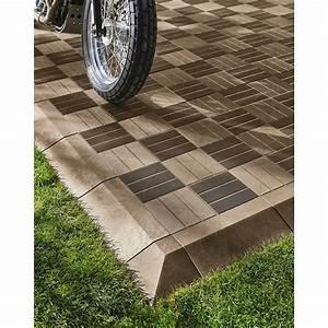 Dalle De Terrasse Castorama : dalle de terrasse composite marron angara pas cher dalle ~ Premium-room.com Idées de Décoration