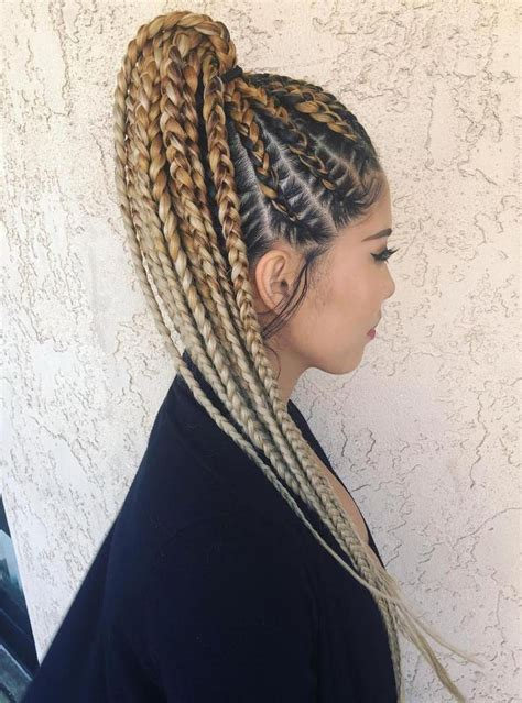 20 Super Hot Cornrow Braid Hairstyles In 2019 Braidzzzz