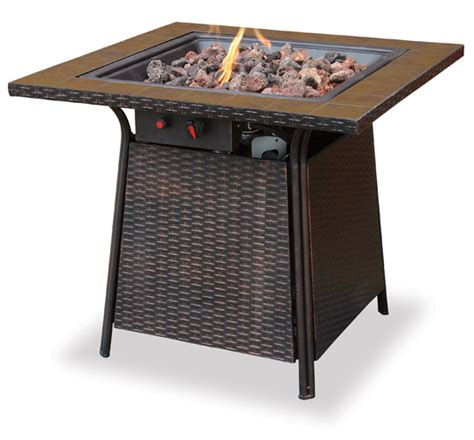 gas l mantles outdoor 32 locus lp gas outdoor firebowl with tile mantle