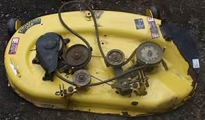 John Deere Lt150 Lt160 Lt170 Lt180 42 U0026quot  Mower Deck 42c Convertible